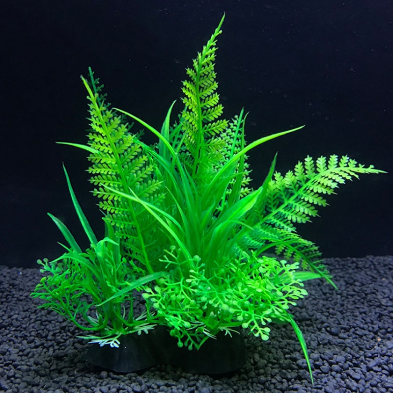 Simulation Artificial Plants Aquarium Decor Water Ornament Plant Fish Tank Aquarium Grass 14cm Decoration