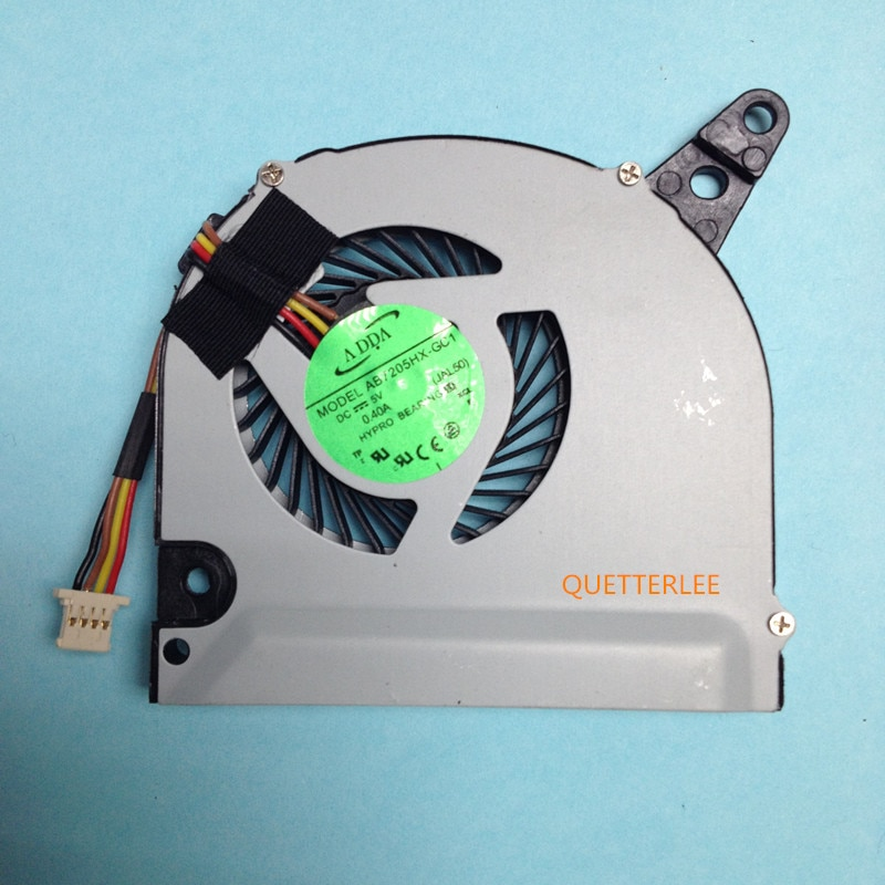 Nueva computadora portátil ventilador de refrigeración de la CPU para Acer Aspire M5 M5-581 M5-581T M5-581G M5-581TG serie AB06505HX07KB01