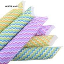 Nan Chuang 12 Stks/partij Gedrukt Flet Geweven Stof 1 Mm Dikte Polester Doek Voor Naaien Poppen Home Decoration Patroon 15x15cm