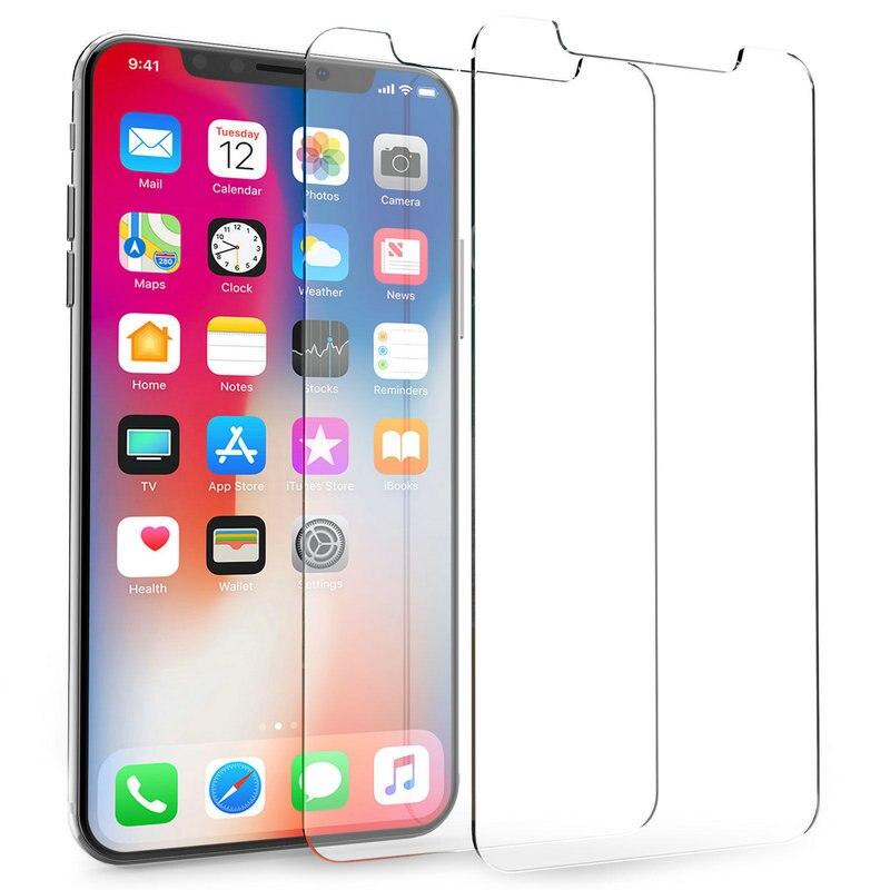 9H رقيقة جدا قسط الزجاج المقسى شاشة حامي ل فون 12 البسيطة برو ماكس X 8 7 القيح 6s زائد 6s 5s 4s 200 قطعة لا حزمة