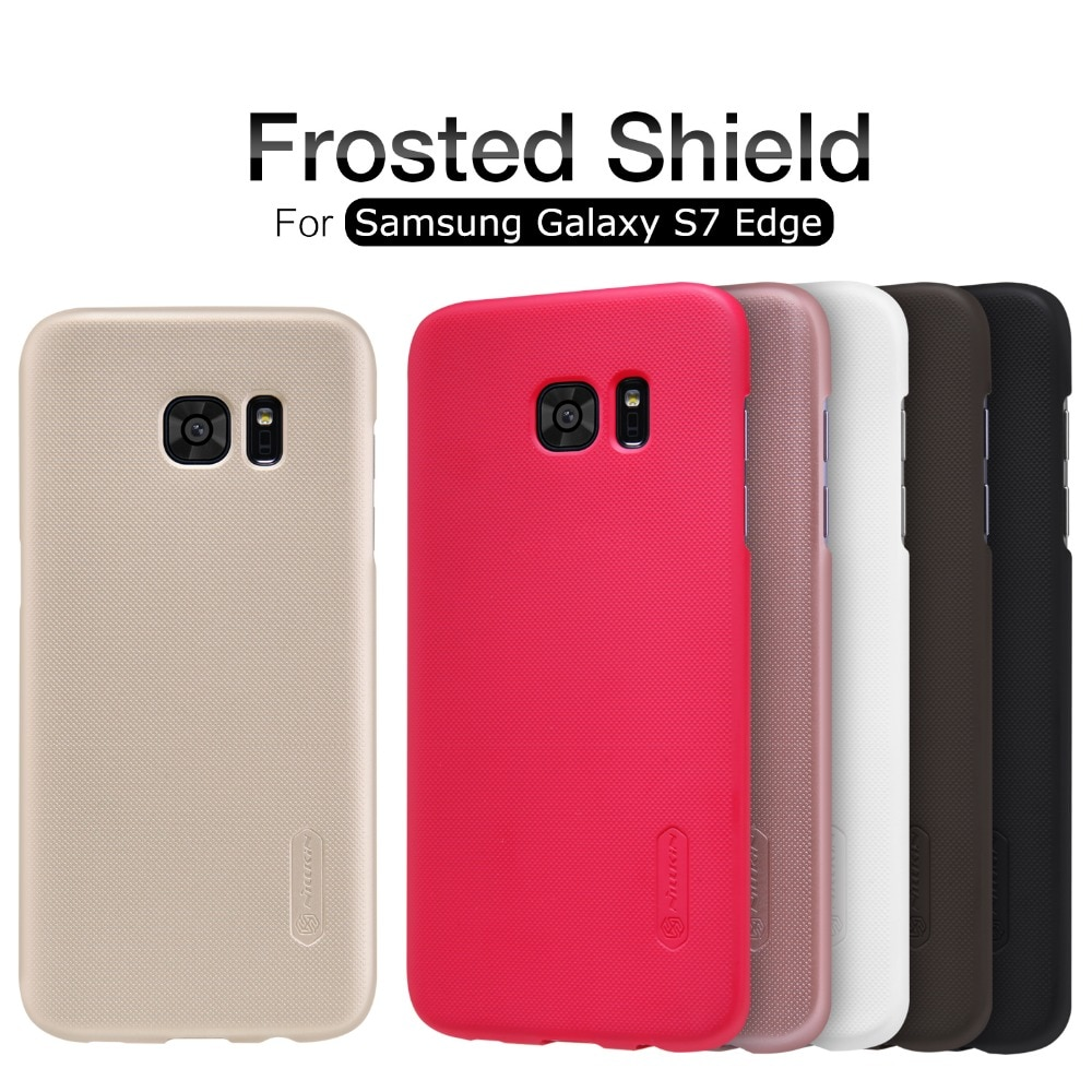 Чехол NILLKIN для Samsung Galaxy S7 Edge, суперматовый защитный чехол-накладка для Samsung Galaxy S7 Edge + розничная упаковка
