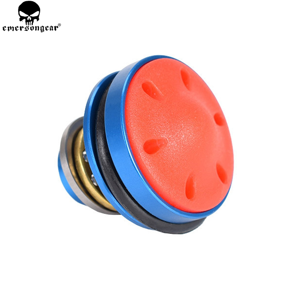 EMERSONGEAR Silent Piston Head For Airsoft AEG Version 2/3 Ver.2/ 3 AK47/74 AUG M4 M16 MP5 G3 M249 Gearboxes Hunting Accessories