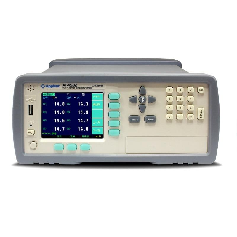 At4508 at4516 at4524 at4532 multi-canal medidor de temperatura-200 c channel 1300 canal 8/16/24/32 termopar
