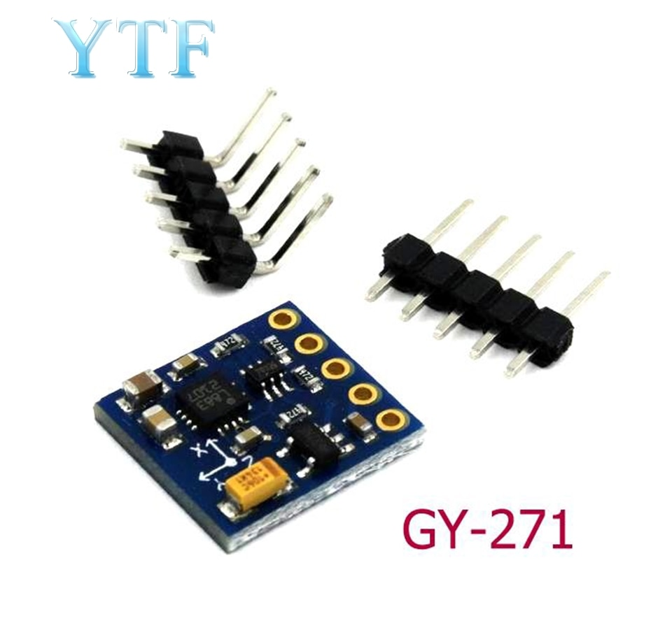 Módulo Sensor magnetómetro 3V-5V brújula GY-271