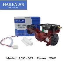 HAILEA ACO-003 DC 12 v 25 watt Permanent Elektromagnetische Luft Kompressor für Hydrokultur Teich Aquarium Aquarium Sauerstoff Luftpumpe