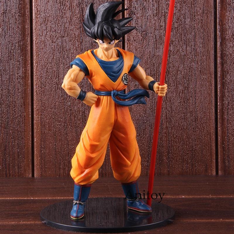 Figuras de acción de Dragon Ball Super, Goku, La 20. ° película limitada, Son Goku, Dragon Ball, juguete de modelos coleccionables en PVC