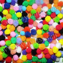 1000PCS/LOT.1.3cm pompom,Multicolor pompom,DIY accessories,Garment accessories.Handmade toys,Craft material,Free shipping.OEM