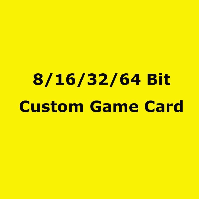 8Bit/ 16Bit/ 32Bit Custom Game Card