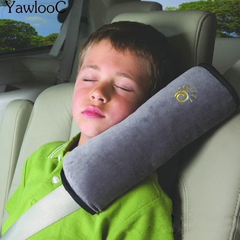 Del bambino Auto Cuscino Cintura di Sicurezza e Sede di Sonno Posizionatore Protect Shoulder Pad Regolare Cuscino del Sedile Del Veicolo per I Bambini Box per bambini