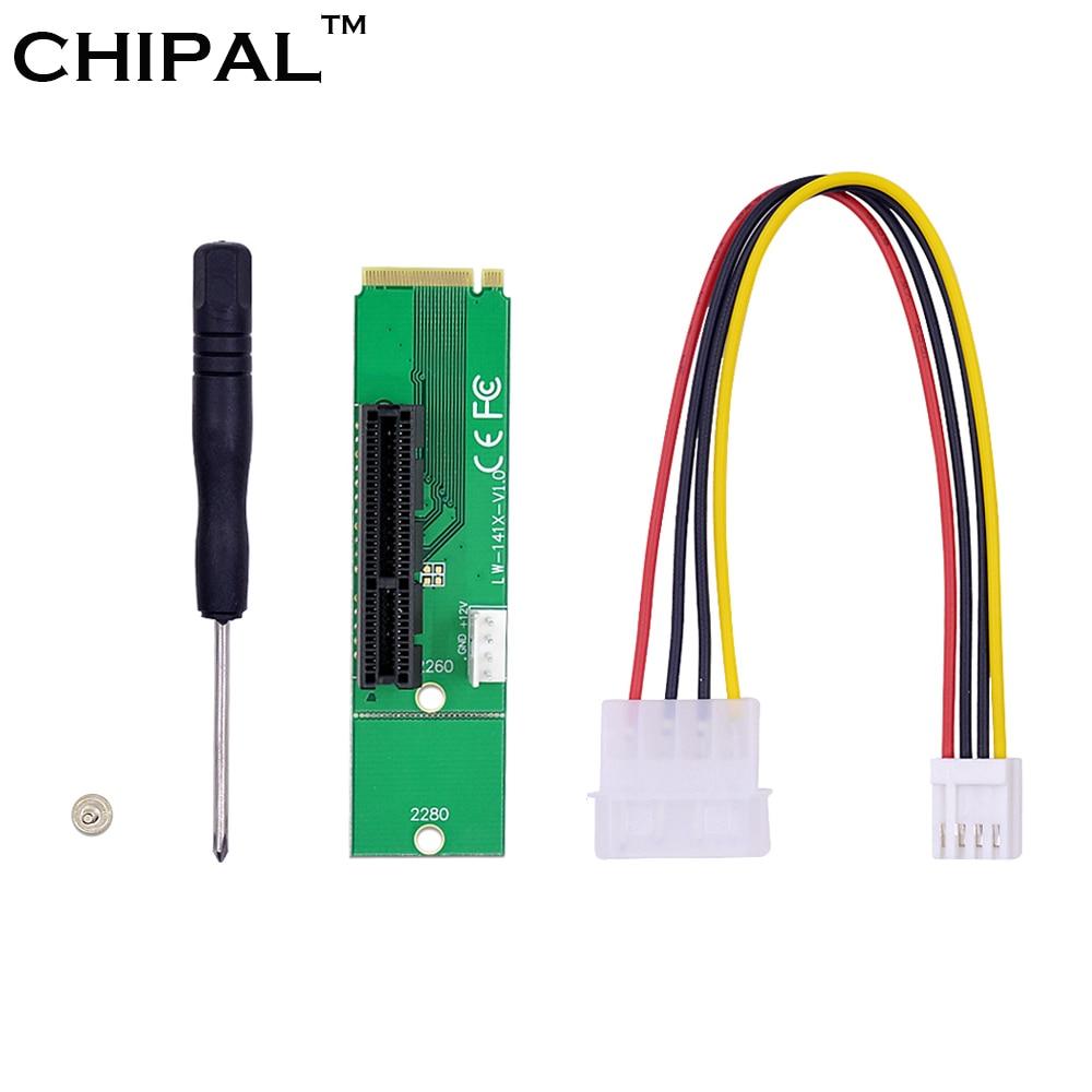 Чипальный адаптер NGFF M.2 в PCI-E 4x, адаптер для переходных карт со слотом M2 в PCIE X4 X1, конвертер для майнинга биткоинов Litecoin