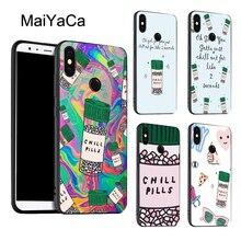 Chill Pills Phone Case For Xiaomi Redmi Note 8 9 K30 Pro 7 8T 9S 7A 8A Mi 9T 9 10 Lite A3 Max3 Mix3