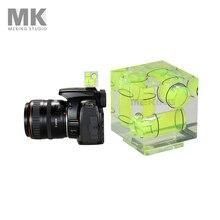 Тройной 3 осевой спиртовой уровень Горячий башмак пузырьковый градиент для камеры Canon Nikon и т. Д.