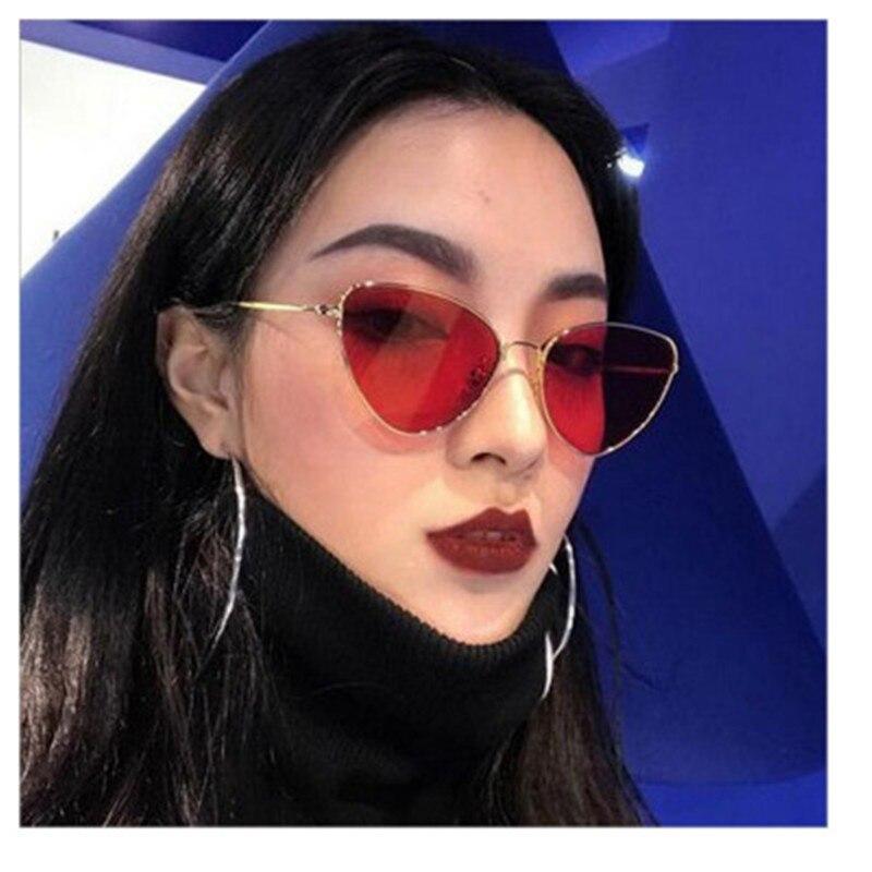 Beautyeye Matizado na Cor Da Lente Do Vintage Em Forma de óculos de Sol Olho de Gato Mulheres Óculos de Sol Óculos Mulheres UV400 Luxe Vermelho óculos de Sol Femininos