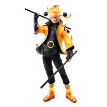 Chaude Uzumaki Naruto Rikudo Sennin ootuki Hagoromo Six immortels classique bande dessinée Anime Naruto 21.5cm figurine