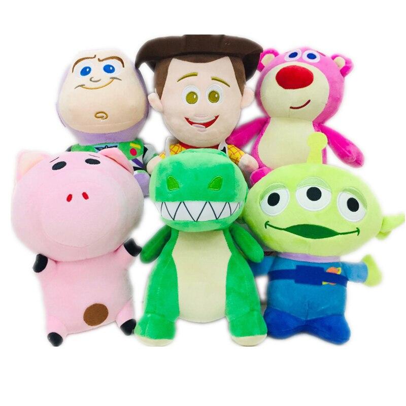 Disney brinquedo história 4, brinquedos pixar, woody buzz lightyear, morango, urso, brinquedo alienígena, história, modelo, brinquedos para crianças presente