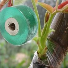 Freesjipping 4 pièce/lot outils de jardin arbre fruitier Parafilm sécateur greffon branche jardinage lier ceinture PVC cravate ruban 2 CM x 100 M