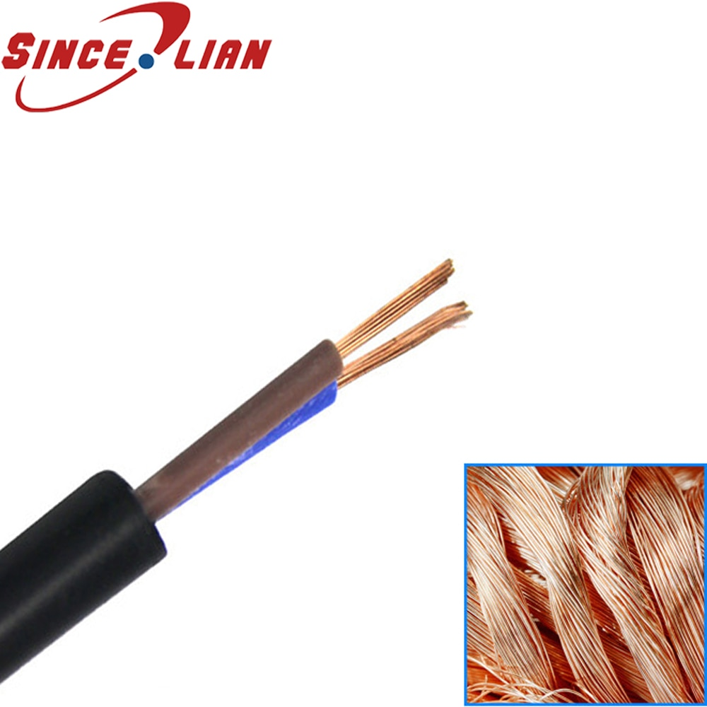 Cable de alimentación Original RVV Cable de Monitor de 2 núcleos Cable...