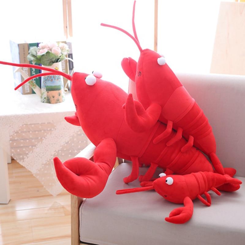Плюшевая игрушка-лобстер, 1 шт., мягкая подушка в виде морячков, творческие мягкие детские игрушки 30/см