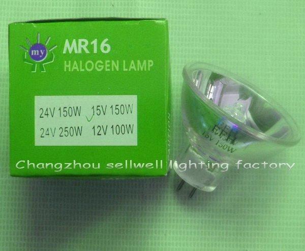 ¡Nuevo! lámpara halógena Mr16 bombilla médica W016 15v 150w