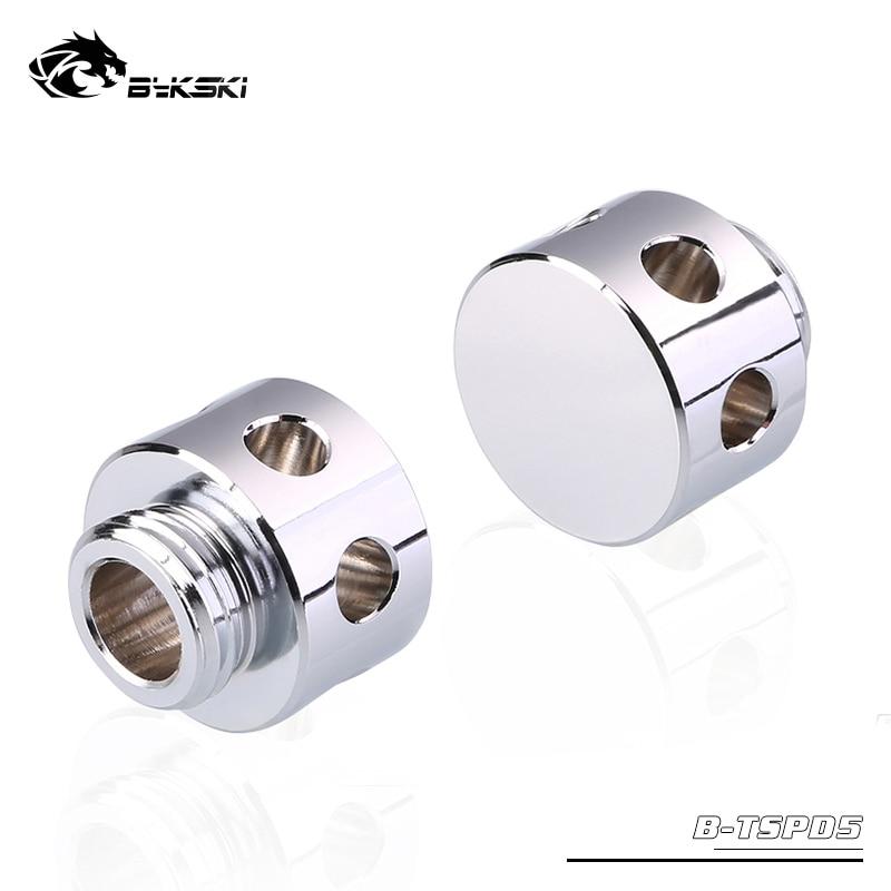 Bykski B-TSPD5, Flow Buffers, Splitters, Defoamers, Multifunction Silver Spoiler