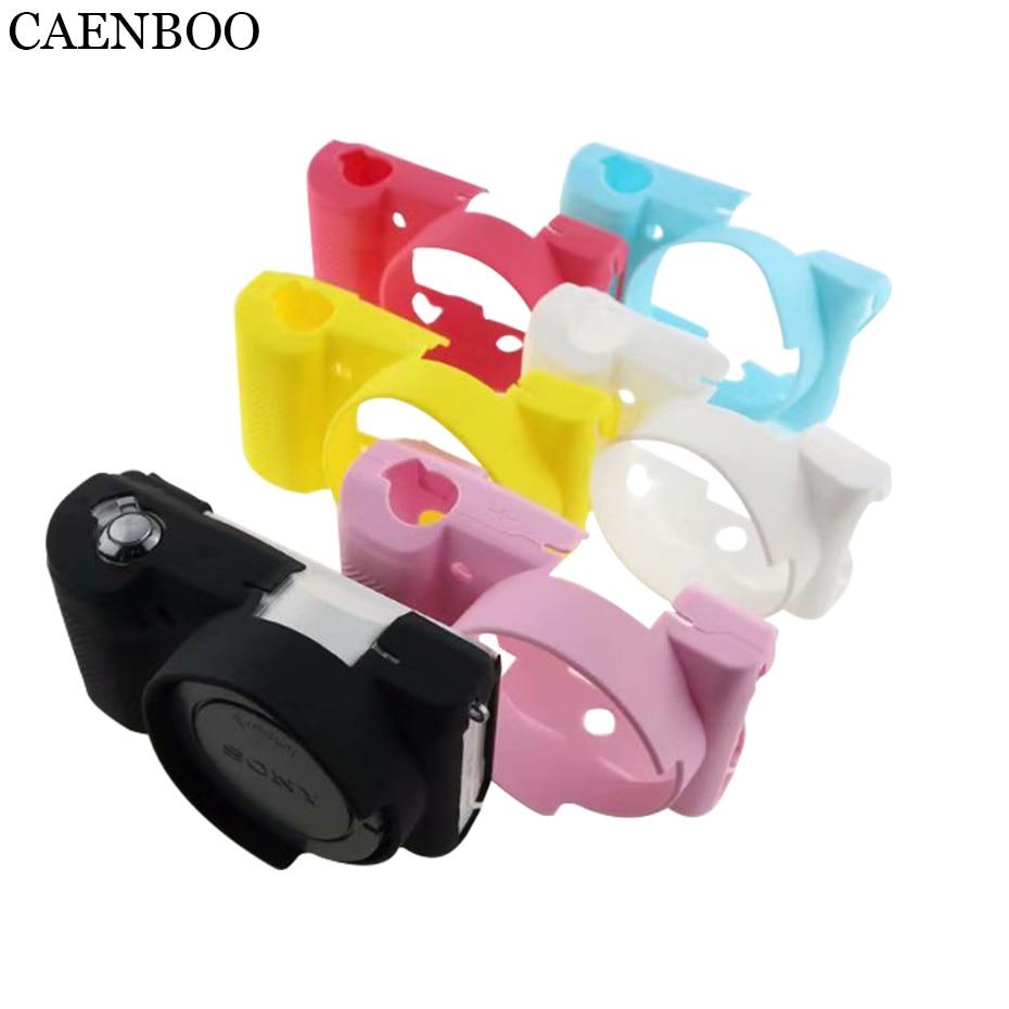 CAENBOO bolsas casos Flexible suave funda de silicona para Sony Alpha A5100...