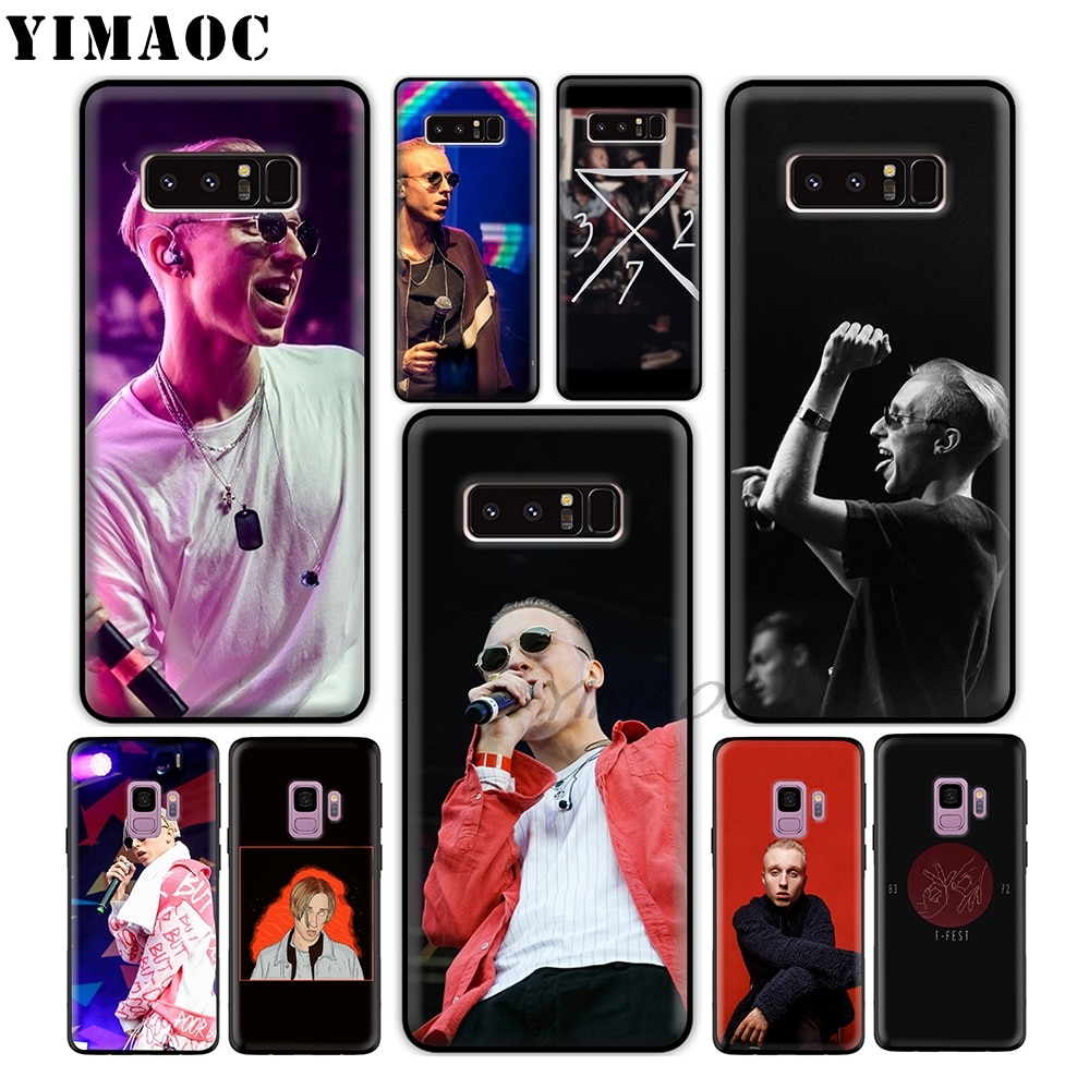 Yimaoc t-fest rapper fresco macio tpu silicone caso para samsung galaxy s10 s10e s9 s8 mais s7 s6 edge s9 plus & j6