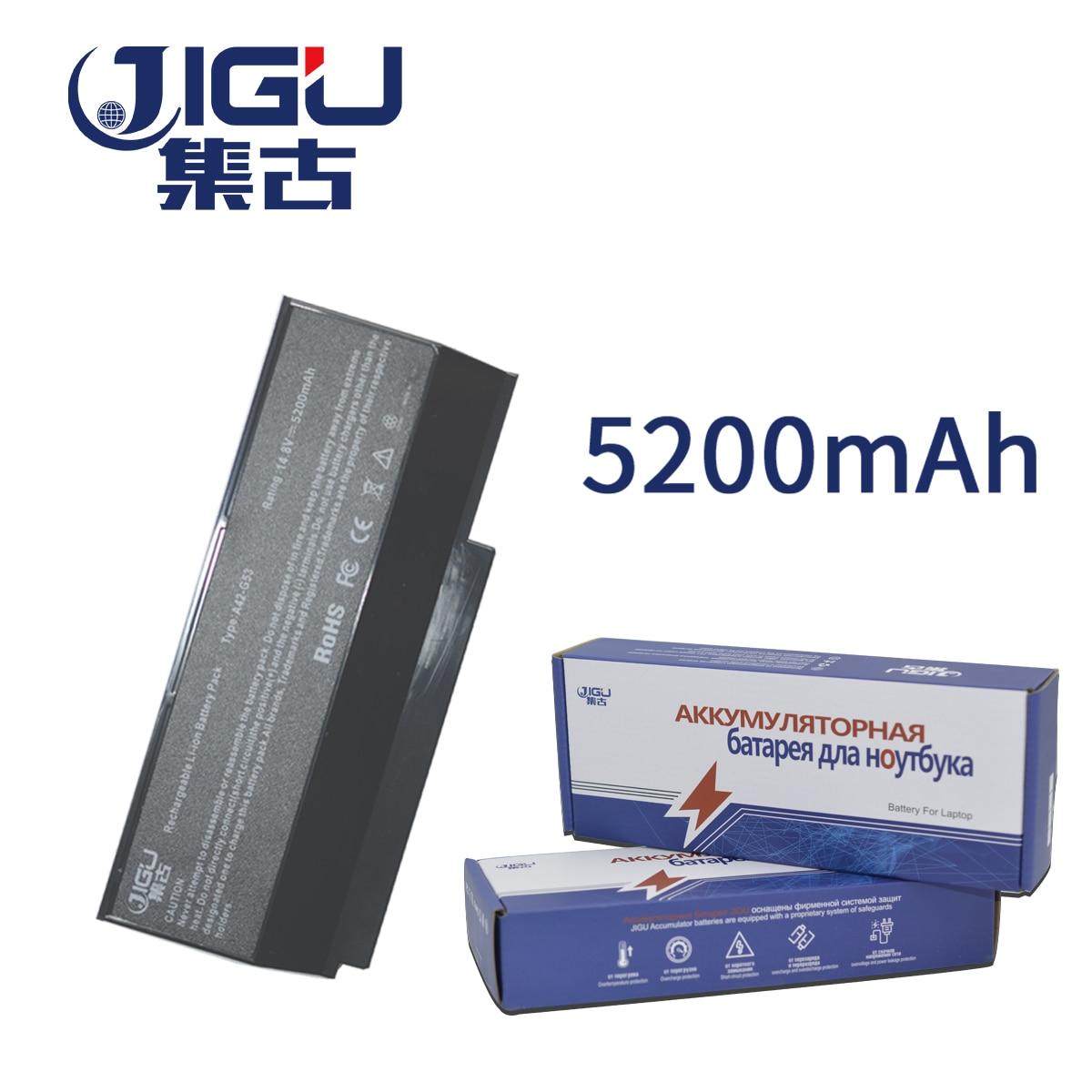 JIGU 07G016DH1875 70-NY81B1000Z 90-NY81B1000Y A42-G73 G73-52 batería para Asus G53 G53J G53JH G53JQ G53JW G53JX G53S G53SV