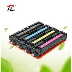 4x cartucho de toner compatível para hp cf400a cf401a cf402a cf403a 410a hp cor laserjet pro m277dw m277n