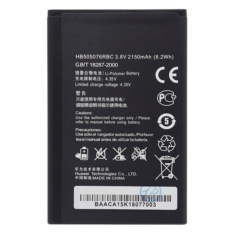Original antirr HB505076RBC Li-Ion batería del teléfono para Huawei G606 G610 G610S G700 G710 G716 A199 C8815 Y600D-U00 Y610 Y3 ii
