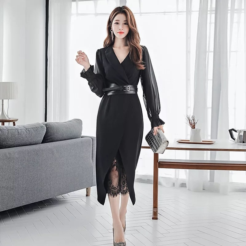 Vestido feminino slim sexy, novidade, moda feminina, perspectiva selvagem, renda fino, sólida, confortável, festa, conjunto feminino
