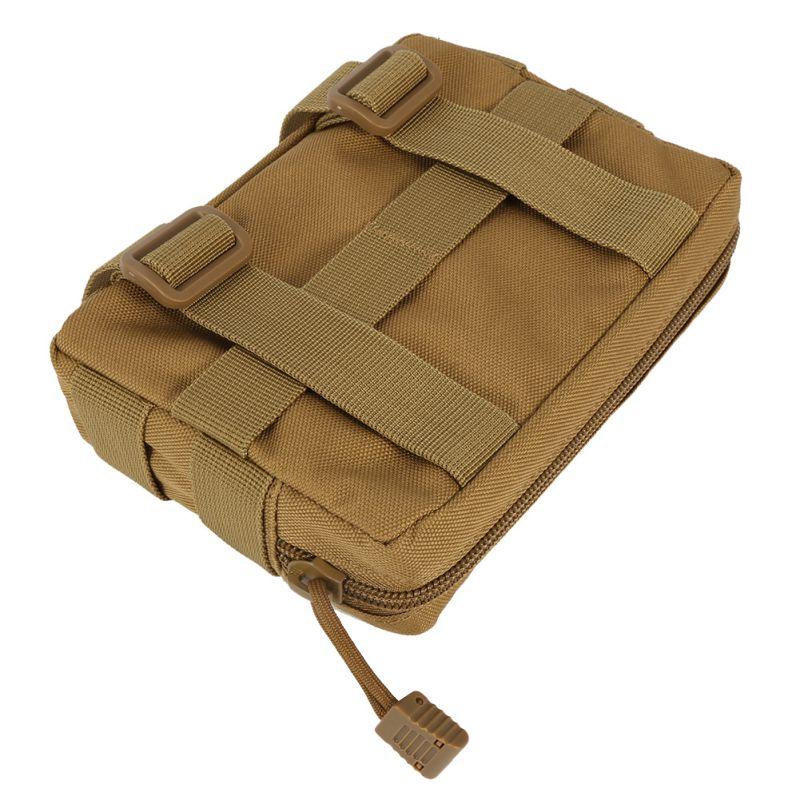 Airsoft táctico 600D Molle utilidad EDC/accesorio Drop Nylon impermeable revistero bolsa de engranajes al aire libre K5