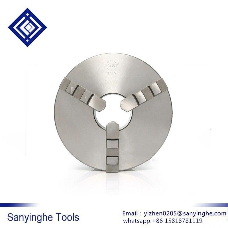 De alta precisión de sanyinghe 1 Uds torno chuck tres-la mandíbula-centrado chuck K11-80/K11-100 Herramientas cnc