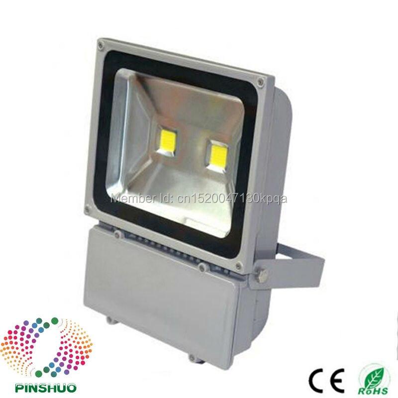 (8 unids/lote) 3 años de garantía Brigdelux Chip LED reflector 100 W LED Luz de inundación al aire libre túnel foco iluminación