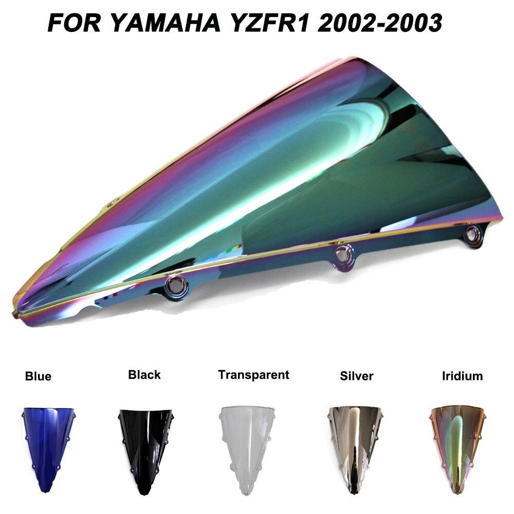 Motorcycle Windscreen Windshield Screws Bolts Accessories For Yamaha YZF-R1 YZF R1 2002 2003 Iridium Wind Deflectors