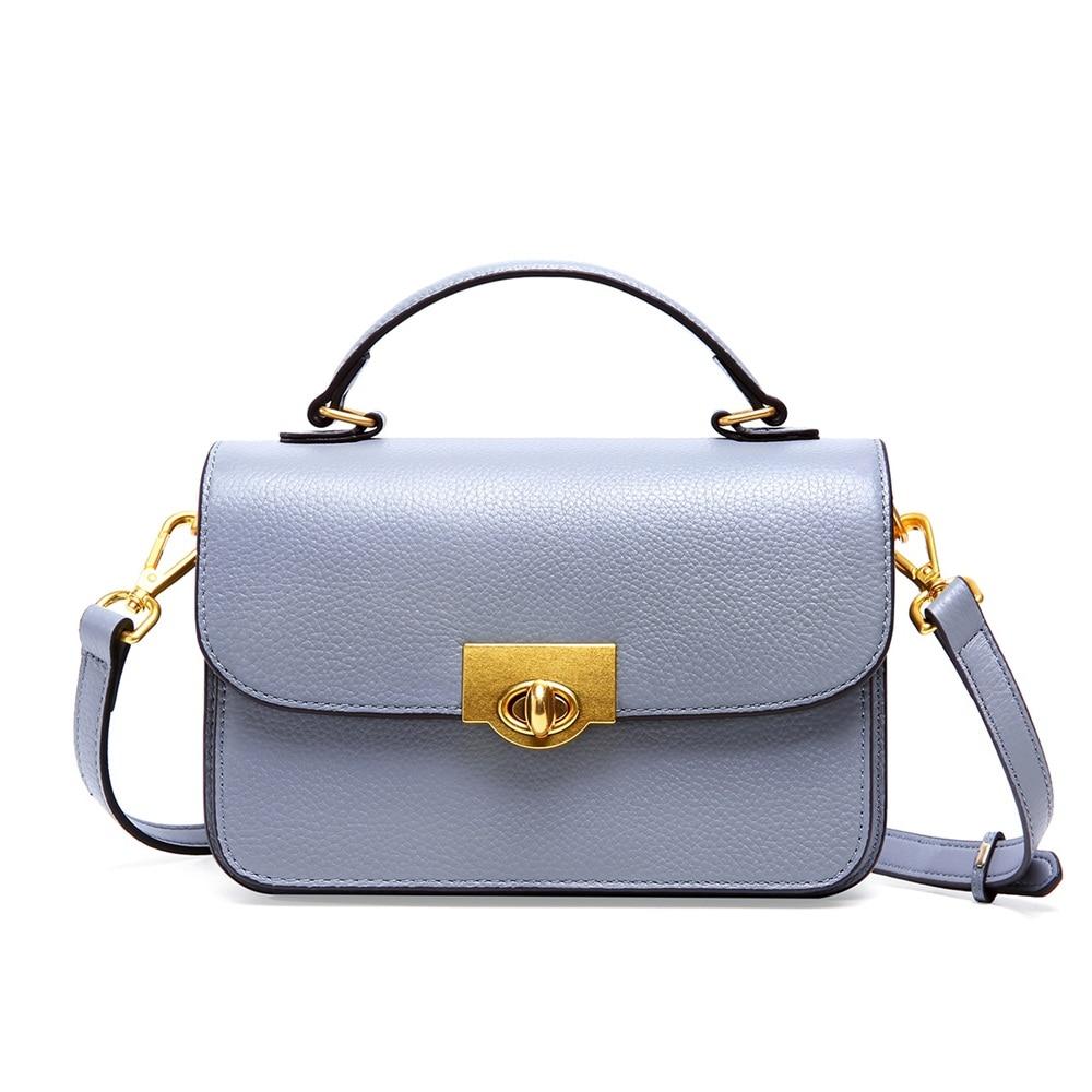 2020 New Togo Cow Leather Shoulder Bag Female Designer Luxury Genuine Leather Flap Bags Crossbody Bag