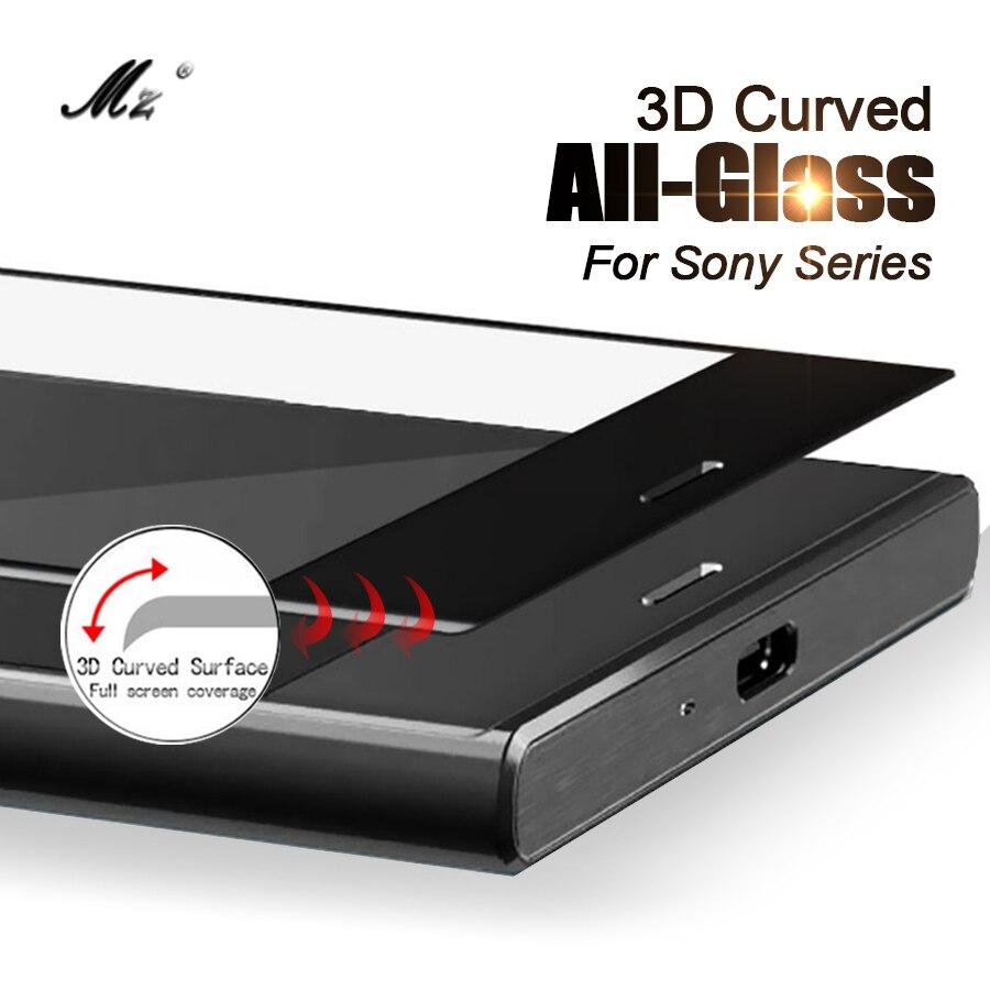 3D полное покрытие закаленное стекло для Sony XA1 Plus XA2 Ultra XA 2 XZ Premium X Compact X Z G3412 H4133 чехол с защитной пленкой для экрана