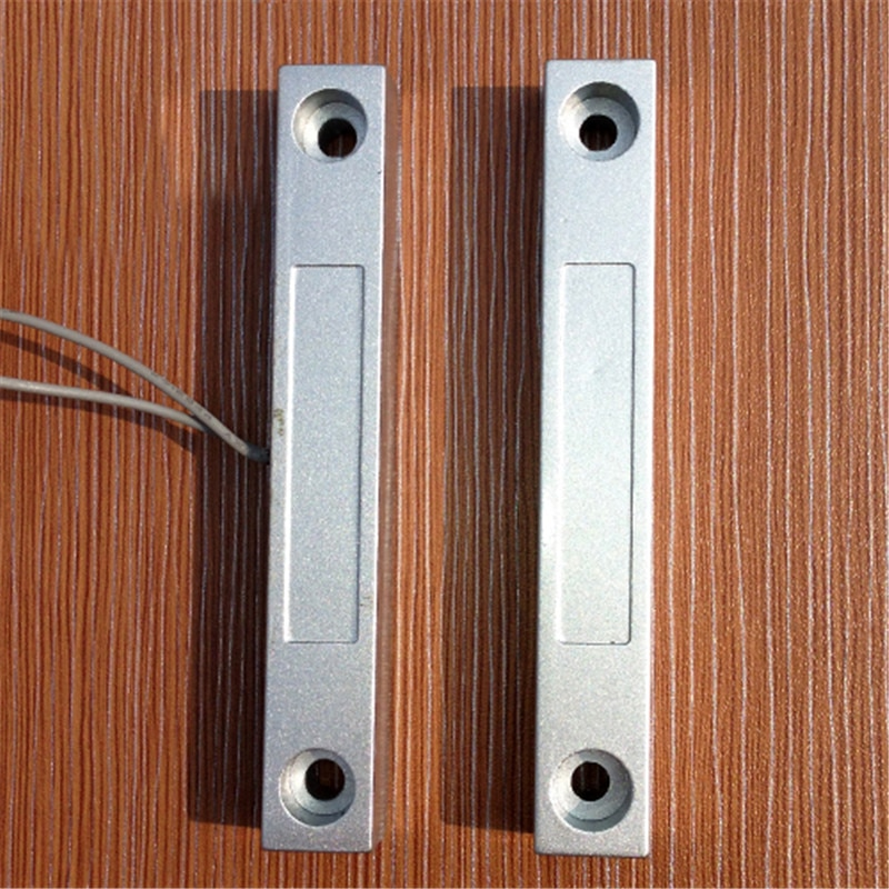 Smarsecur     detecteur douverture de porte fenetre filaire  commutateur magnetique  systeme dalarme domestique anti-cambriolage  wi-fi  GSM  MC-58