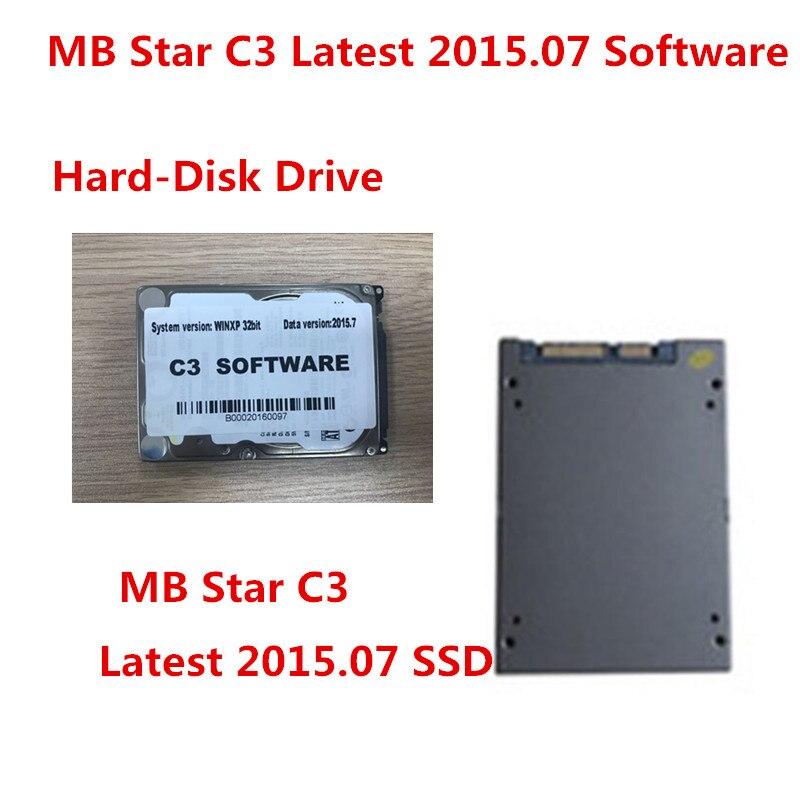 Новейшее программное обеспечение MB Star C3 Connect HDD или SSD с версией V2015.7 для D630 CF19 CF30