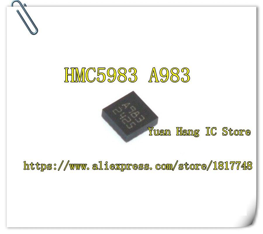 5 unids/lote HMC5983-TR HMC5983TR HMC5983 marcado A983 16-LPCC IC