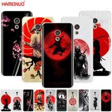 HAMEINUO japon le Ninja samouraï. Housse coque de téléphone pour Meizu M6 M5 M5S M2 M3 M3S MX4 MX5 MX6 PRO 6 5 U10 U20 note plus