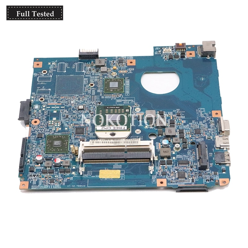 NOKOTION MBPU501001 MB. PU501.001 48.4HD01. 031 Tablero Principal para la placa base del ordenador portátil ACER Asipre 4551 DDR3 totalmente probada