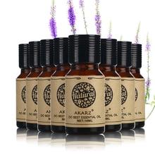AKARZ famoso valor de la marca de comidas Helichrysum eucalipto Neroli Myrrh Ylang orégano geranio, aceites esenciales de incienso 10ml * 8
