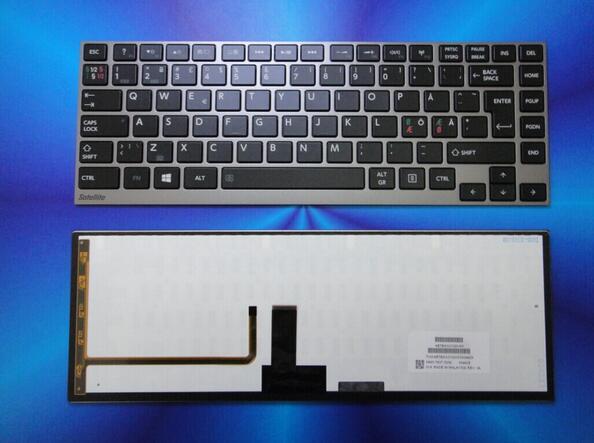Nuevo teclado portátil para Toshiba Satellite U940 U945 U955 Portege Z830 Z835 Z930 Z935 QWERTY sueco/noruego/danés/finlandés