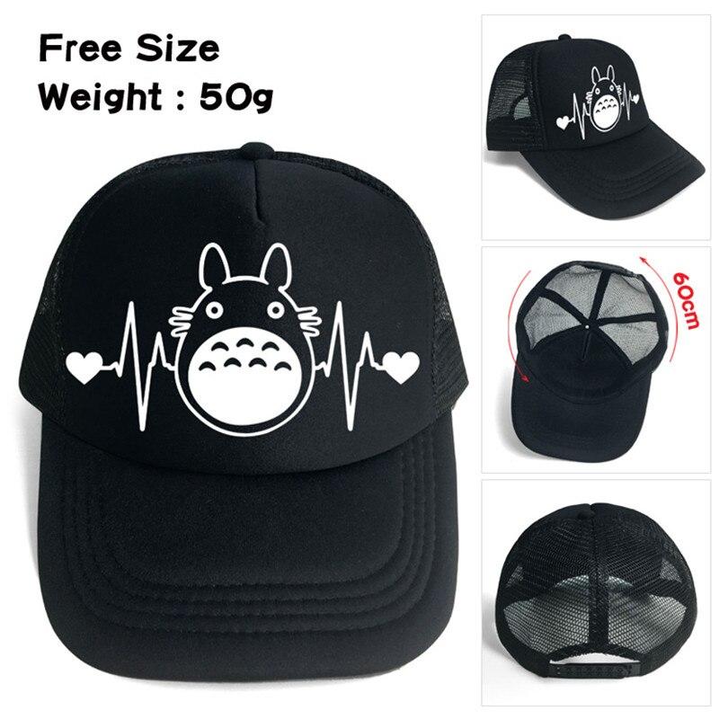 Mon voisin Totoro pas de visage homme Anime dessin animé hommes femmes garçons filles maille Base balle casquette chapeau Cosplay