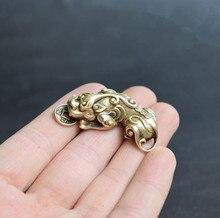 Bronce puro de China Dios bestia pequeño colgante