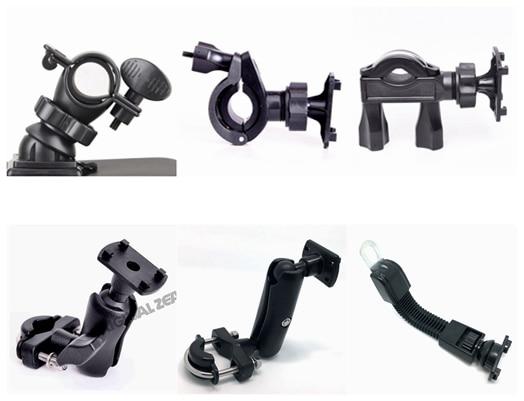 INIZEAL 360 degree Rotating Bicycle Motorcycle Phone holder Handlebar Mirror Seat Mount Adjustable Phone Bag Holder Support - B