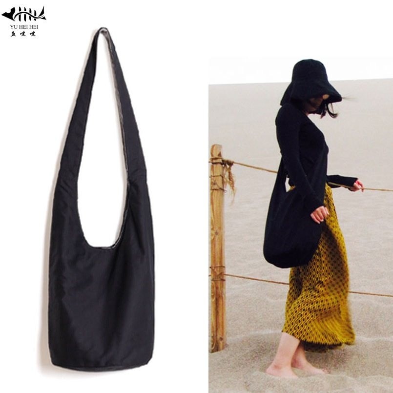 Travel High Quality Women Men Cotton Crossbody Bag Shoulder Bags Messenger Hobo Hippie Boho Bohemian Fringe Bag Women's Handbags