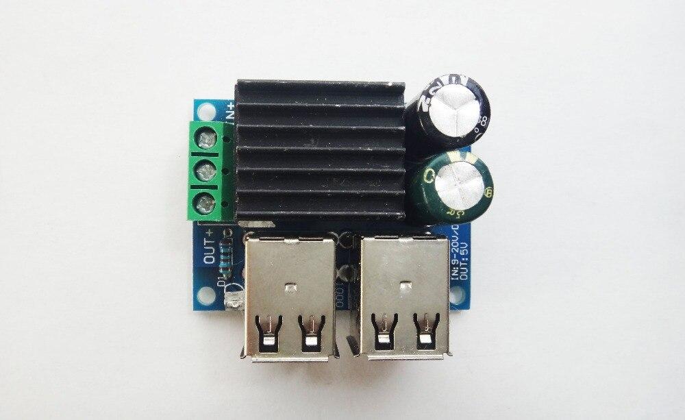 24 V DC 12 V 40 V a 5 V paso USB módulo de potencia reductor MP3 IPAD teléfono