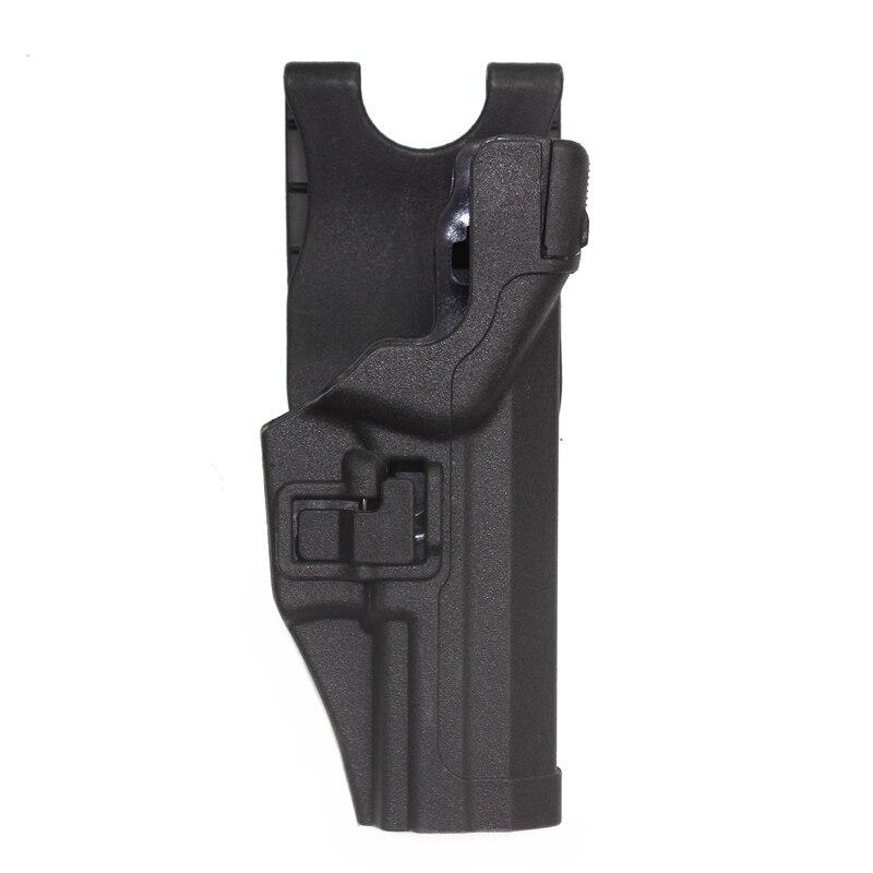 Pistolera táctica de caza, pistolera negra SERPA, pistolera para pistola LV3 para HK USP