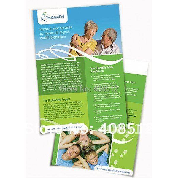 Художественные бумажные листовки с покрытием под заказ, А5 А4, бесплатная доставка